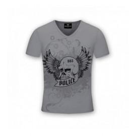 camiseta-dog-skull-gris