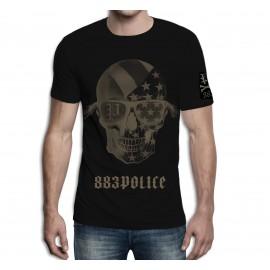 Camiseta 883 Police Skull Stars