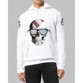 Sudadera con capucha Precious Skull