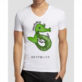 Camiseta Seahorse azul