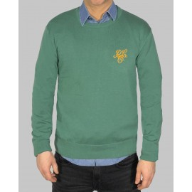 Jersey de punto tricot con bordado de 883 Police